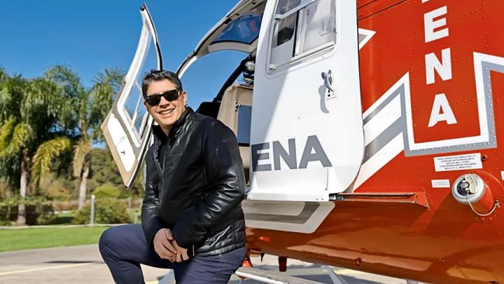 Guillermo Lobo, periodista y piloto