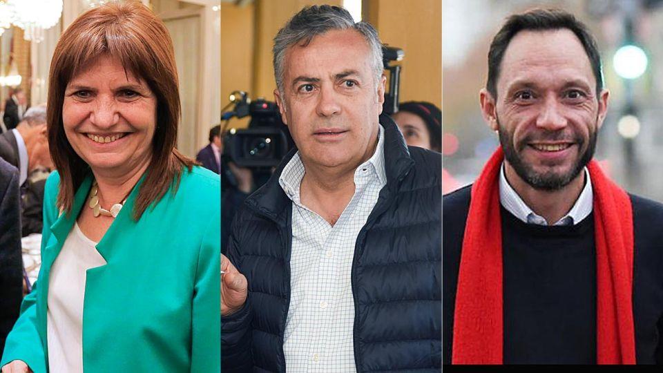 Patricia Bullrich, Alfredo Cornejo Maxi Ferraro