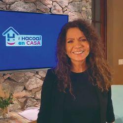 Patricia Sosa en recital para socios de Hacoaj | Foto:Hacoaj