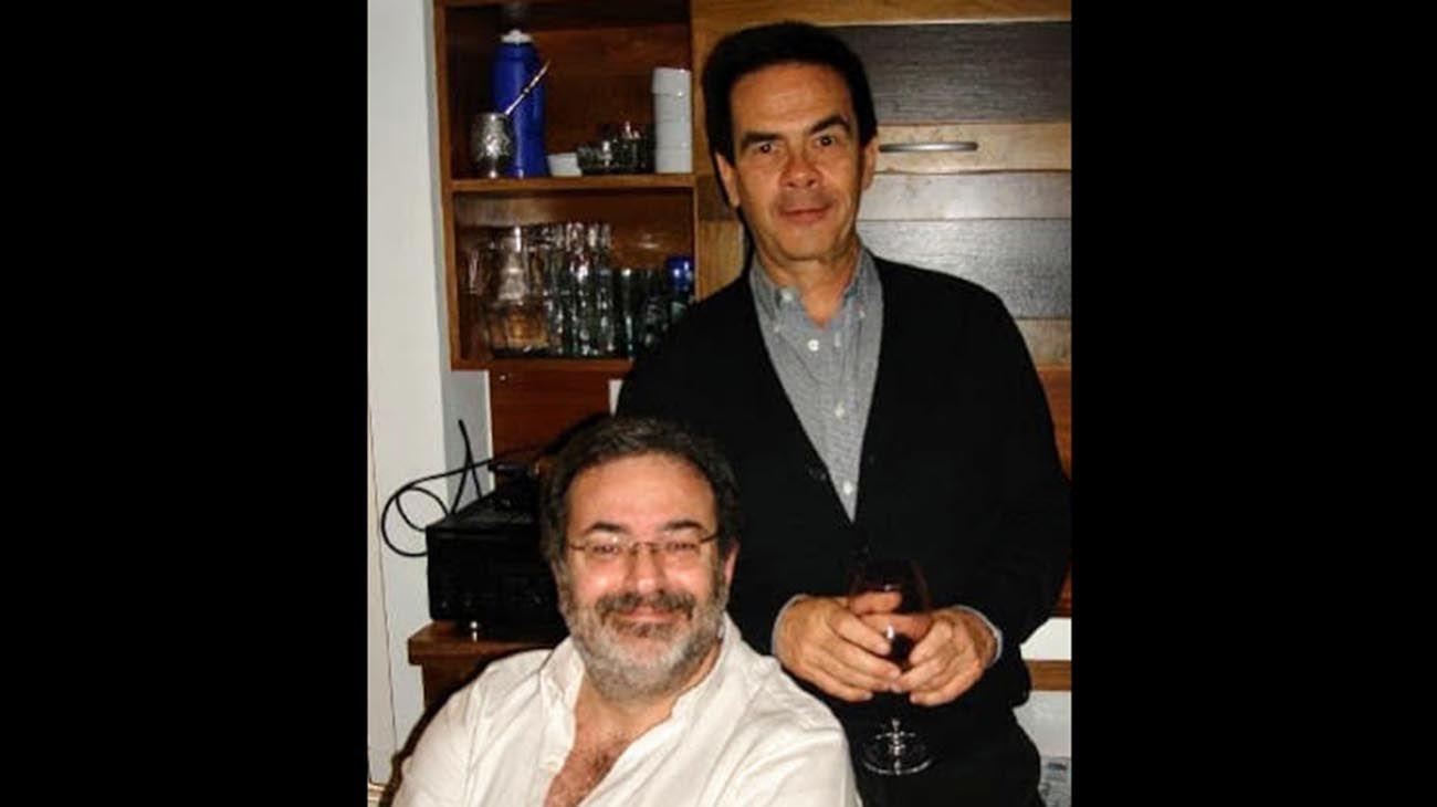 Daniel Pliner y Hugo Asch