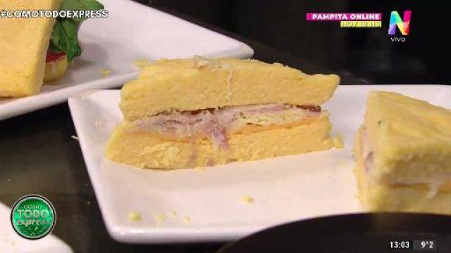 sandwich de polenta