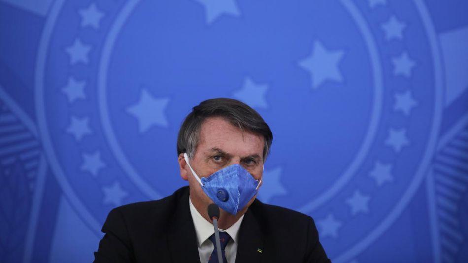 Jair Bolsonaro contagiado de Covid-19 20200707