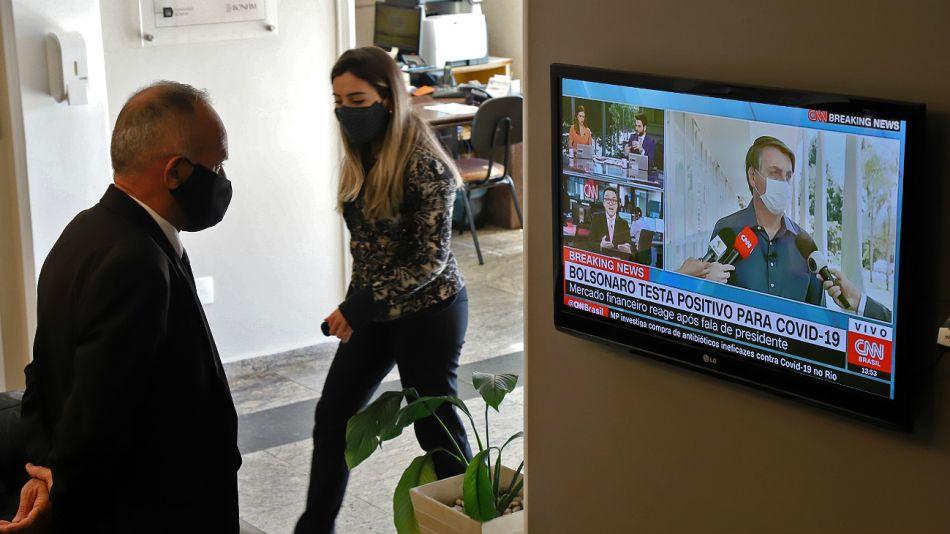 La opinión pública reaccionó de maneras opuestas ante el anuncio de Bolsonaro.