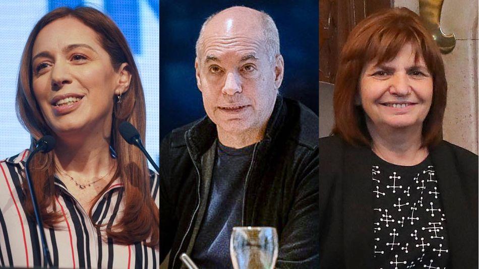 Vidal, Larreta, y Bullrich 20200707