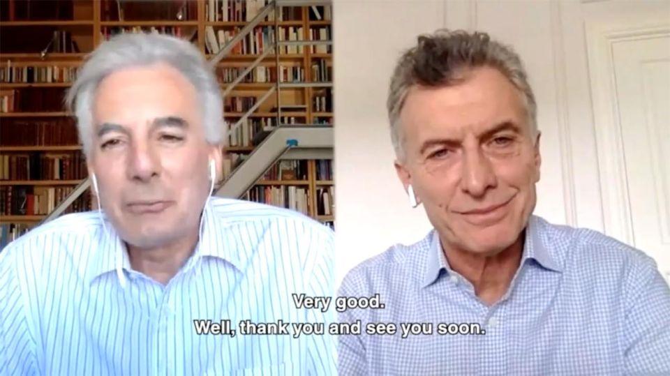 Macri y Vargas Llosa 20200708
