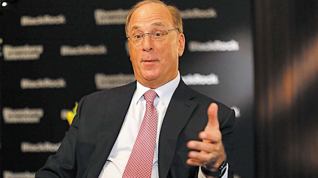 Ceo de Blackrock Larry Fink