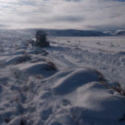 En Mencué se registró el día más frío del año: -25 ºC