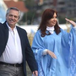 Cristina Kirchner y Alberto Fernández | Foto:CEDOC
