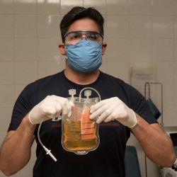 La donación de plasma es el puntapiédel estudio que involucra a hospitales públicos y privados de la ciudad y provincia de Buenos Aires.