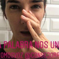 Juana Viale, bancó la campaña #SomosVoz | Foto:Instagram