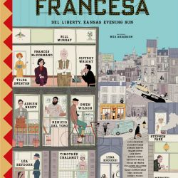 El afiche de la película que llegaría el 15 de octubre a los cines de todo el país.