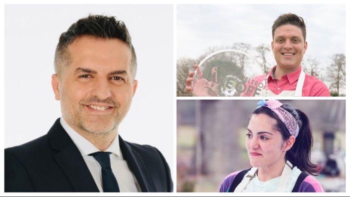 Ángel de Brito les dio un consejo a Damián y Samanta los finalistas de Bake Off