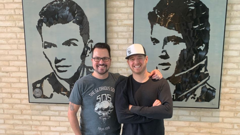Michael Bublé y Rob Ubels
