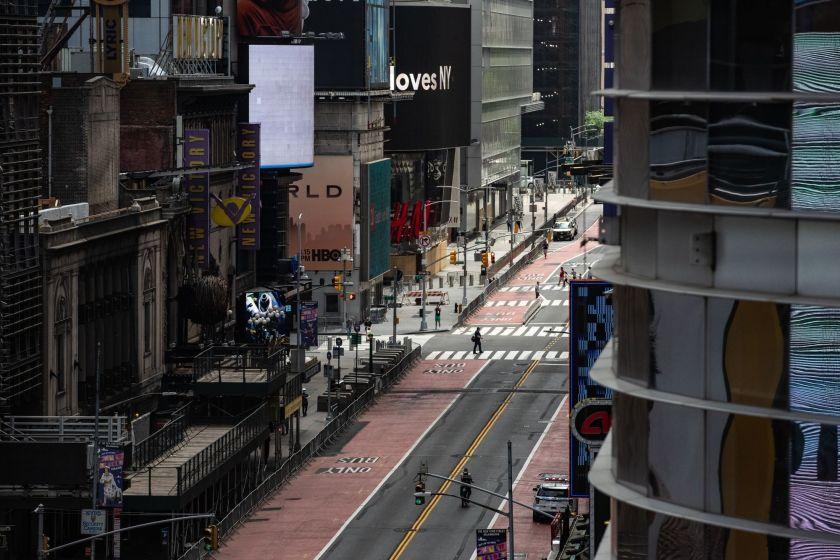 Nueva York registra primer día sin muertes por coronavirus