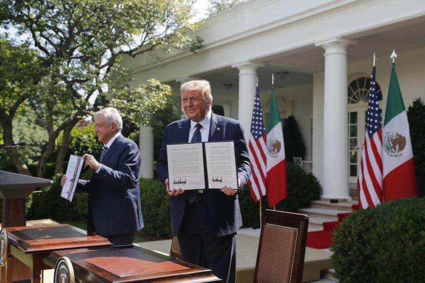 Trump asegura que el caso por sus impuestos es un