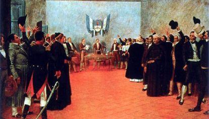 El Congreso de Tucumán, por Francisco Fortuny