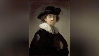 Rembrant-Autorretrato