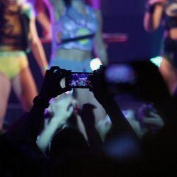 El documental siempre fue estrenado con recitales de bandas de chicas, algo que se mantiene ahora de manera remota.