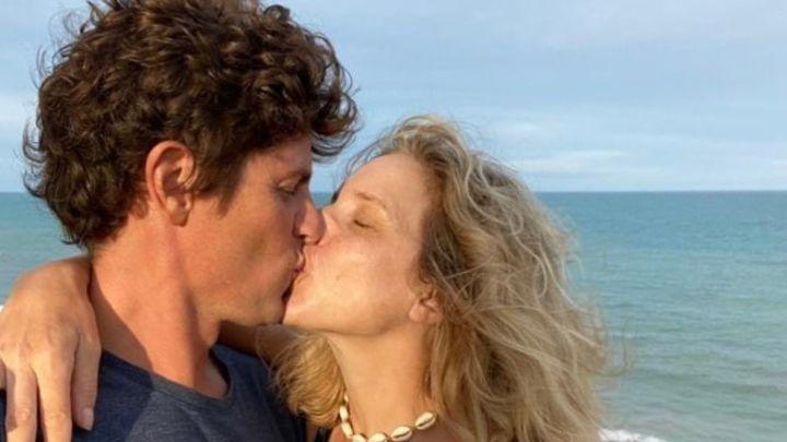 El amoroso mensaje de Carla Peterson a Martín Lousteau por su aniversario