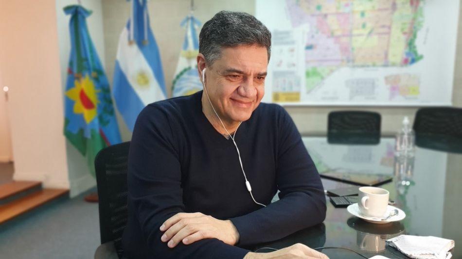 El intendente de Vicente López, Jorge Macri, se reunió el miércoles pasado con el Presidente en Olivos.