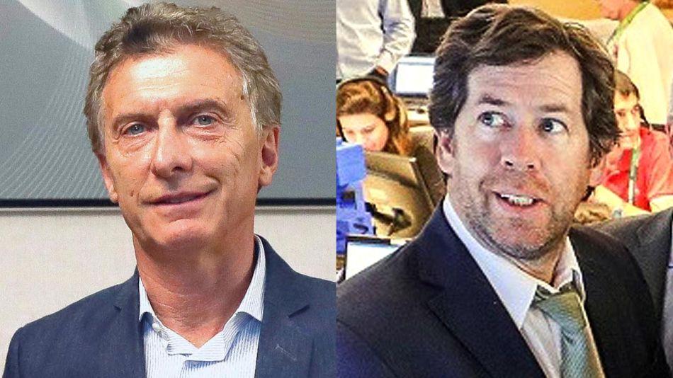 Mauricio Macri y Juan Pablo Biondi 20200710