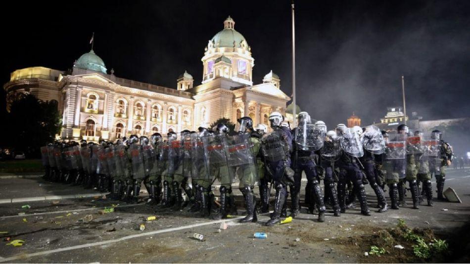 Serbia incidentes
