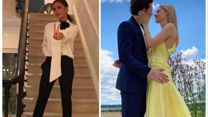 Victoria Beckham anunció el casamiento de su hijo Brooklyn con Nicola Peltz