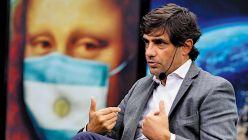 Hernán Lacunza, en la entrevista con Jorge Fontevecchia.