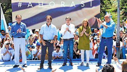 Pasado. El presidente Luis Lacalle Pou y el ministro de Relaciones Exteriores saliente, Ernesto Talvi.