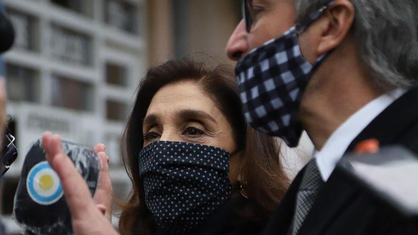 """Silvia Majdalani: """"Estoy acusada sólo por dimes y diretes"""""""