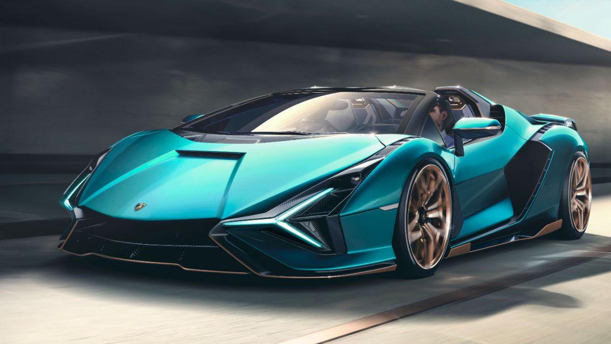 Parabrisas El Deslumbrante Lamborghini Sian Tendra Su Version Roadster