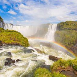 Las Cataratas del Iguazú son una de las nuevas siete maravillas del mundo.