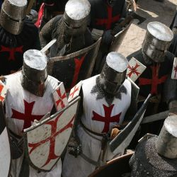 Los Cruzados comenzaron su asociación promovidos por la iglesia, pero con el tiempo se transformaron en un ejército.