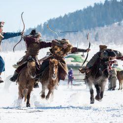 Además, los mongoles usaban flechas silvadoras y hasta algunas que terminaban en granadas. Todo era válido para sacarle ventaja al enemigo.