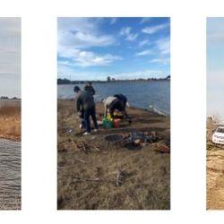 Se demoraron a cinco personas oriundas de Chascomús y Ensenada, que se encontraban pescando en el puente de la laguna Chis-Chis.