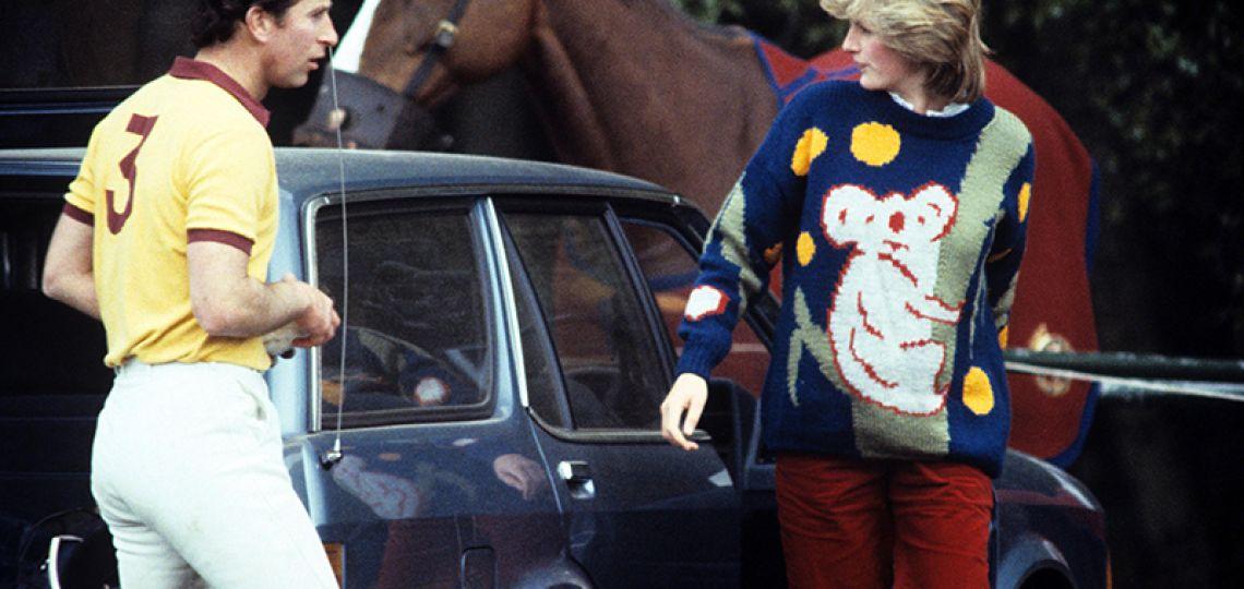 El particular sweater de Lady Di que 38 años más tarde contribuye a una noble causa
