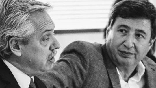 Alberto Fernández y Daniel Arroyo