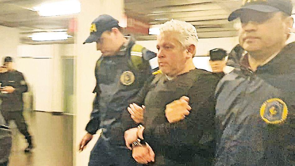 Detención de Fabián Gutierrez