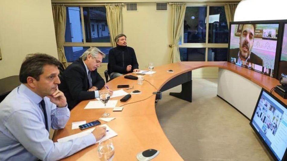 El Presidente dialogó con los legisladores de Juntos por el Cambio 20200713