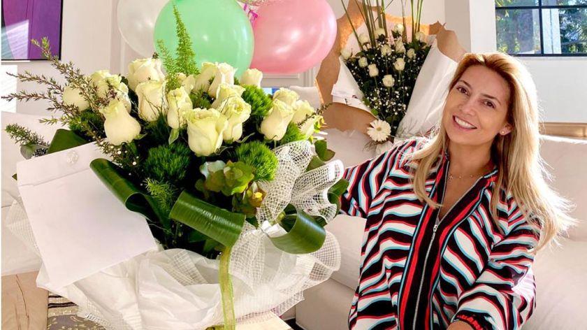 El austero cumpleaños de Fabiola Yáñez