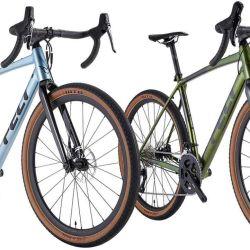 Lo primero a señalar es el cuadro, que puede ser de mountain bike o de gravel.