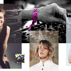 María Campos, Chiara Parravicni y Connie Isla. Las tres artistas principales de un mega evento virtual.
