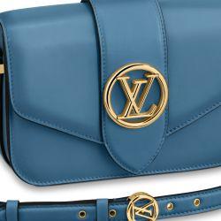 El LV Pont 9 está disponible en cinco colores. Este es el Bleu Orage.