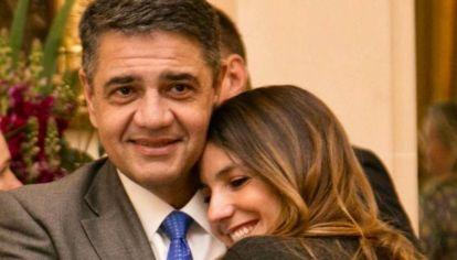 Jorge Macri le pidió matrimonio a Belén Ludueña en Polémica en el Bar