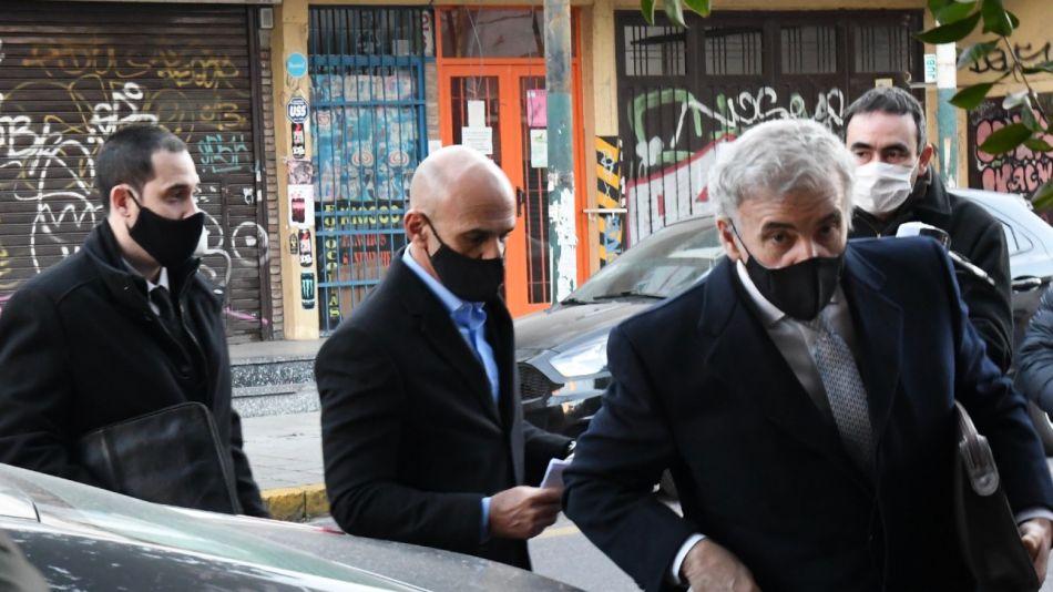 Gustavo Arribas en los Tribunales de Lomas de Zamora