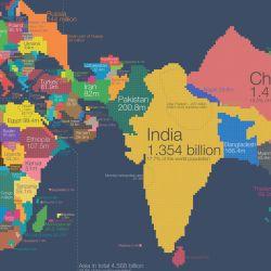 El pico de población se alcanzará en la década de 2060, con 9.700 millones de habitantes.