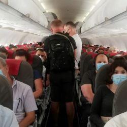 Cómo funciona el filtrado de aire de los aviones para evitar el coronavirus
