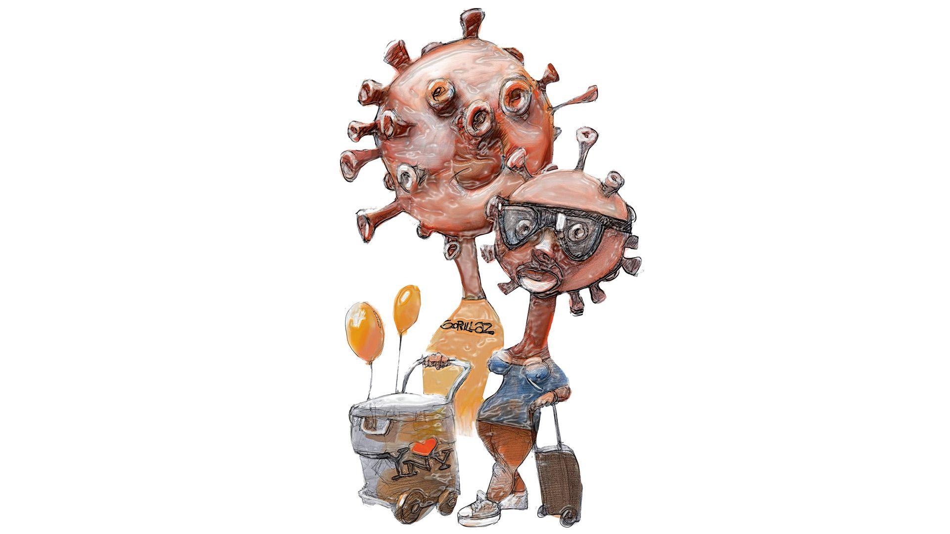 Los K y el coronavirus militante
