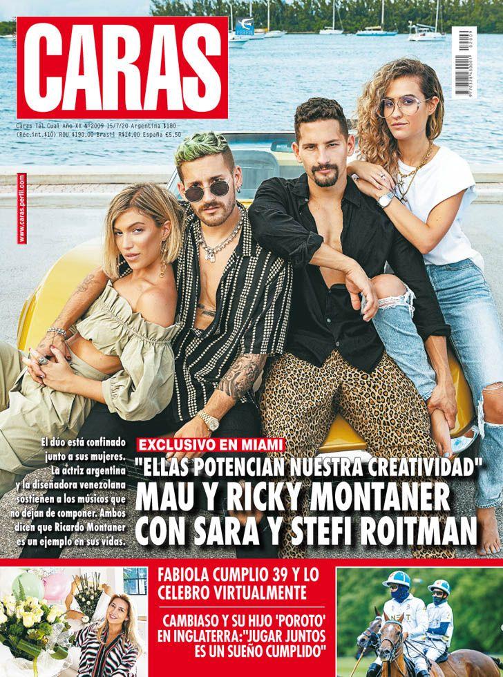 """Mau y Ricky Montaner con Sara y Stefi Roitman: """"Ellas nos potencian"""""""