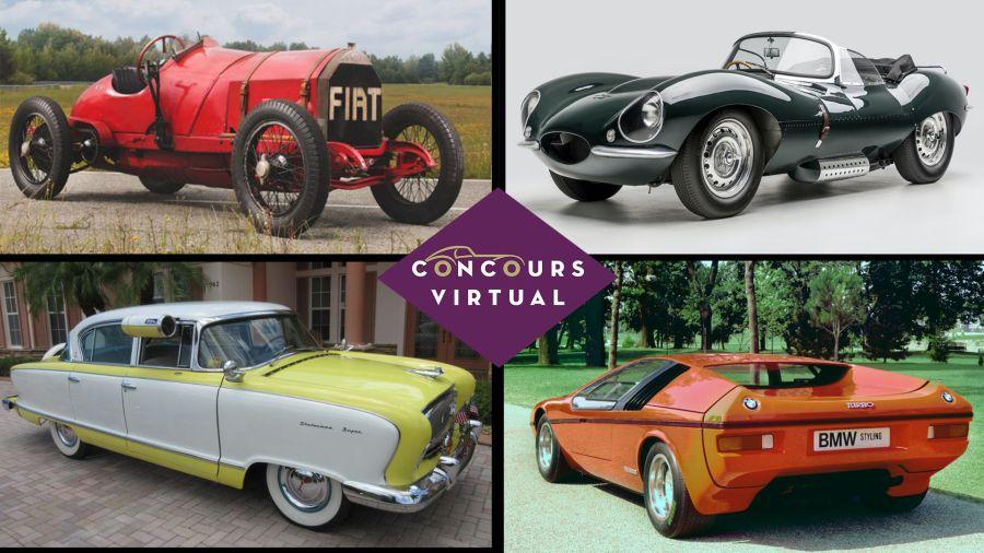 Concurso virtual de autos legendarios